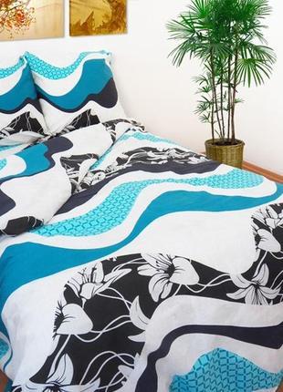 Качественное 2-х спальное постельное белье, комплект