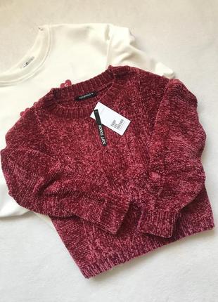 Велюровий светрик свитер велюр terranova