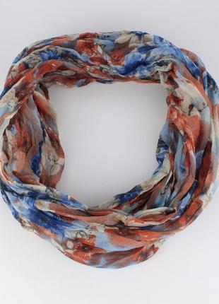 Весенний шарфик-хомут ashma 0003-4, различные расцветки