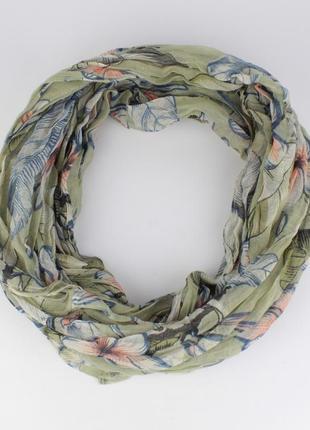 Весенний шарфик-хомут ashma 0003-5, различные расцветки