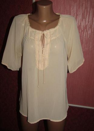 Блуза р-р 12 бренд vero moda