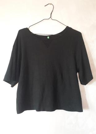Укорочена плотна футболка