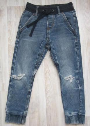 Джоггеры джинсы штаны на резинке h&m