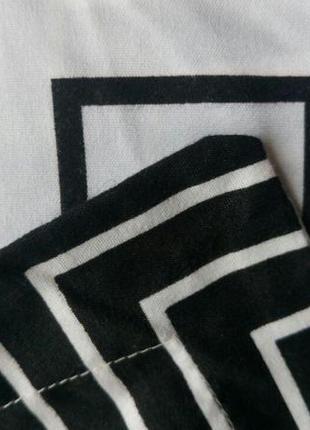 Набор постельного белья черно-белый 100% хлопок4 фото