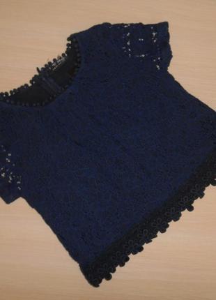 Нарядная туника, блузка, блуза топ  next, 5 лет, 110 см, оригинал