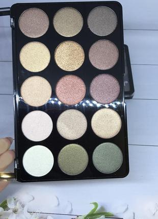 Тени для глаз dodo girl professional makeup 15 оттенков  к. 31224 фото