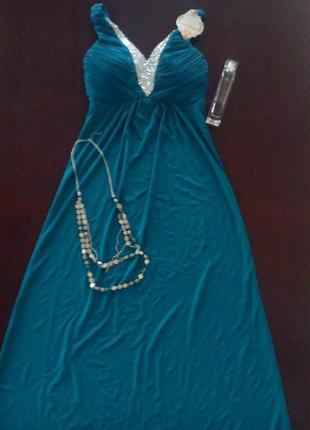 Платье вечернее lucas and emma 40-42, вечірня сукня
