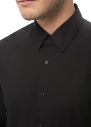 Фирменная черная рубашка lagerfeld