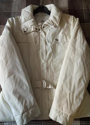 Куртка-пуховик lacoste.