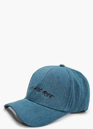 Джинсовая кепка boohoo