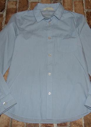 Рубашка с рукавом хлопок 10-11 лет