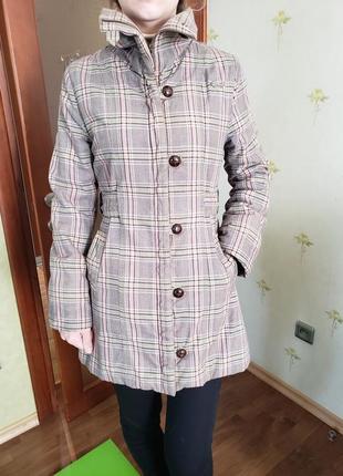 Демисезонное пальто размер  с