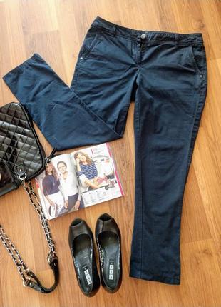 Класичні буденні темно-сині штани my lovely basic chino