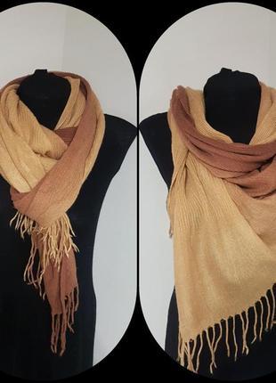 Демисезонный шарф-жатка