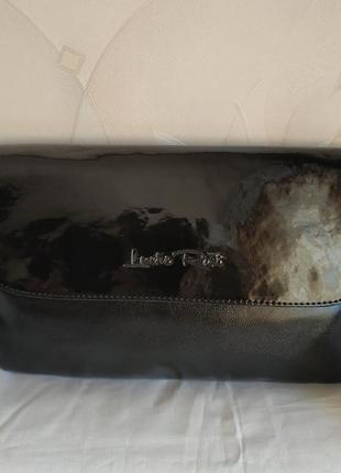 Новая сумка клатч через плече на плече