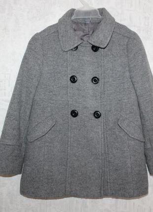 Пальто zara 5-6 л