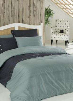 Комплект постельного белья u.s. polo assn  евро