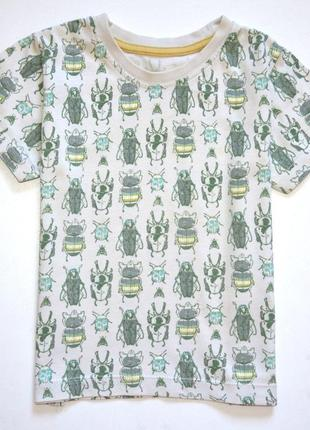 Matalan. футболка с насекомыми. 18-23 мес.