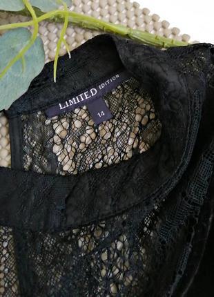 Шикарная бархатная (велюровая) блуза с кружевными рукавами5 фото