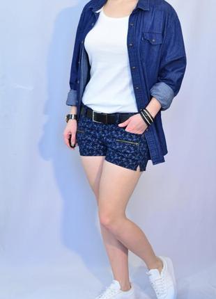 2010\60 джинсовые шорты h&m m l