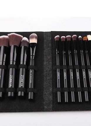 Набор кистей для макияжа zoreya makeup brush set - 18 pc