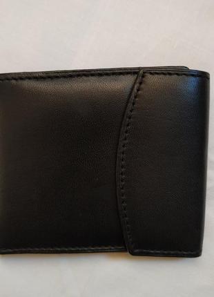Новый мужской кожаный тонкий кошелек swan индия