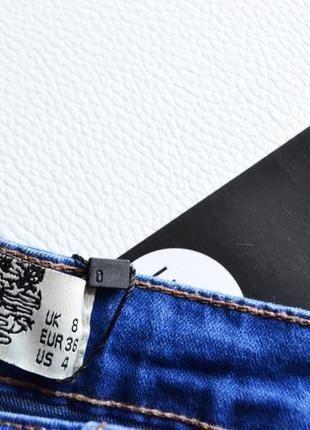 Идеальные джинсы скинни с рваностями4 фото