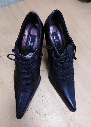 Кожаные ботиночки kerisiding 35 р.