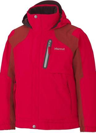 Горнолыжная мембранная зимняя куртка marmot p.l (10-12 лет)