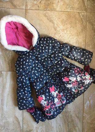 Куртка на девочку 3-4г