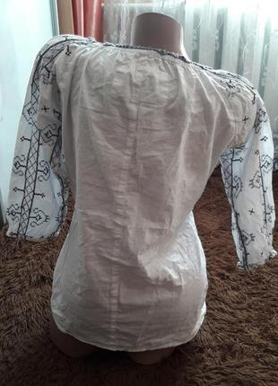 Рубашка-вышиванка р-р м-л2 фото