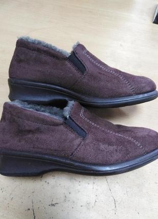Стильные тёплые туфли rohde 5 р. австрия
