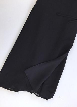 Легкое платье на запах с переплетом на спинке3 фото