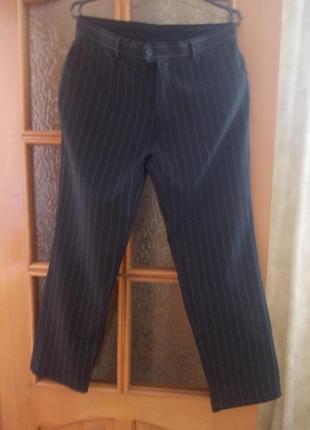 В наличии модные идеальные брюки в полоску, фирма angelo litrico