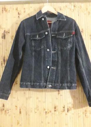 Куртка  джинсовая оверсайз бойфренд джинсовка