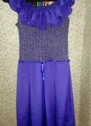Платье ручной работы hand made