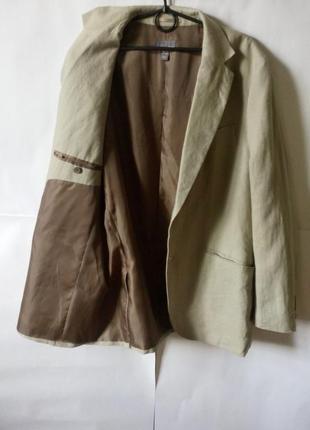 Лен! летний мужской пиджак!