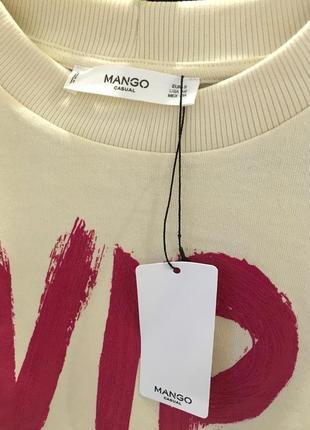 Брендовый свитшот mango4 фото