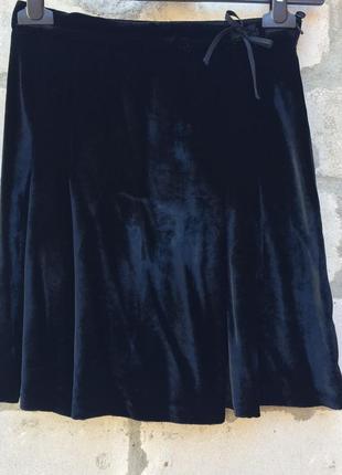 Бархатная юбочка для модницы.