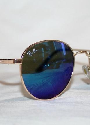 Очки. солнцезащитные очки. круглые очки. очки в стиле ray ban. 4708. зеркальные очки