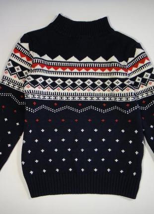 Теплый свитер next 3-4 года, 104 см