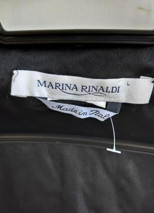 Накидка жакет бархат marina rinaldi3 фото