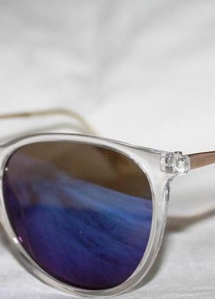 Очки в стиле cartier. 6225. очки. солнцезащитные очки. зеркальные очки. круглые очки