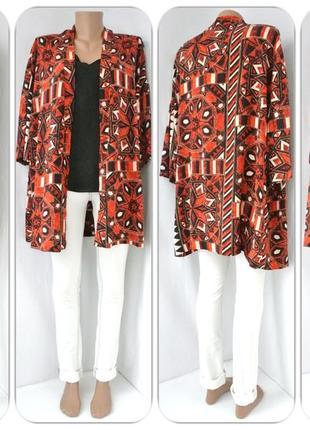 Большой выбор! вискозная накидка, кимоно h&m. размер l.