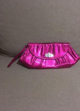 New look, розовый клатч