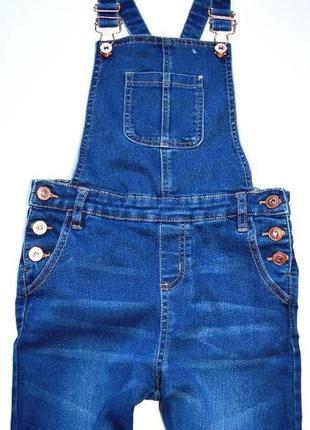 Miss e-vie. джинсовый комбинезон на девочку 10 лет. рост 140 см.2 фото