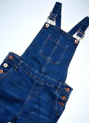 Miss e-vie. джинсовый комбинезон на девочку 10 лет. рост 140 см.3 фото