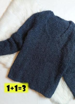 F&f стильный свитер травка m-l мягкий пушистый пуловер свитшот джемпер реглан кофта
