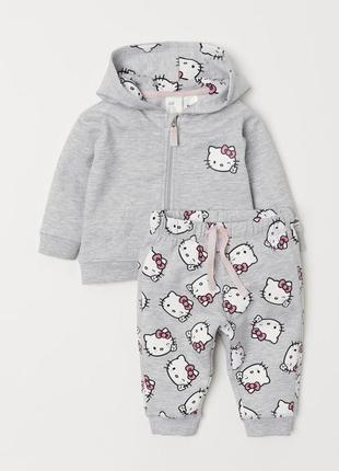 Костюм hello kitty на 6-9 мес