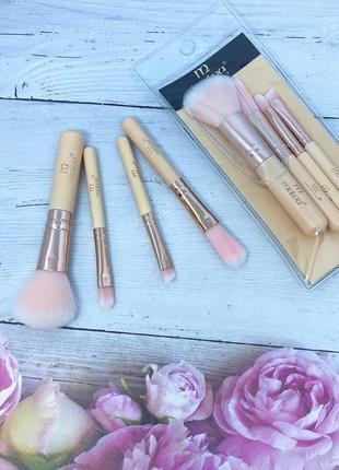 Набор кистей для макияжа malva brush kit compact